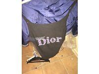 Ladies Christian Dior vest top uk10