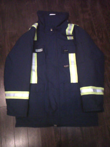 Fire retardant winter coat?