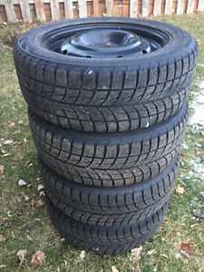 Winter Tires - Bridgestone Blizzak WS60 205/55R16 w Steel Rims