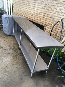 Table de stainless steel