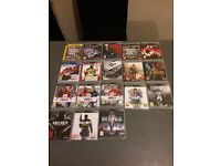 PS3 games 13 for the lot no gta