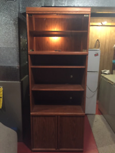 TALL BOOKSHELF UNIT