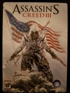 Assassins creed III tin case xbox 360