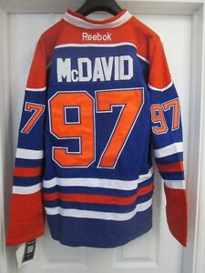 Connor McDavid Edmonton Oilers NHL Reebok Jersey - New with Tags