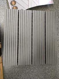 4 decking tiles