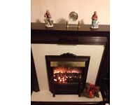 Electric Fire and Surround £20