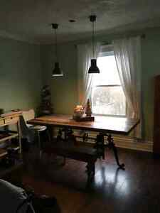 Beautiful two bedroom house with backyard close to downtown