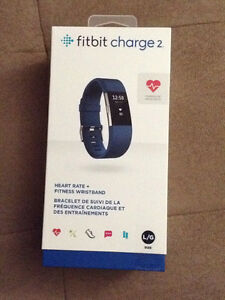 Fitbit Charge 2 - blue, large, brand new