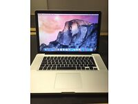"Macbook Pro ""Core 2 Duo"" 2.53GHz 8GB RAM 128GB SSD"