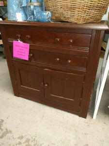 Antique Quebec Farmhouse Cupboard