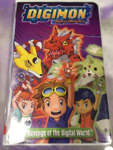Digimon Digital Monsters VHS - Revenge of the Digital World