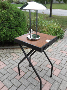 projector table, industrial table, end table,