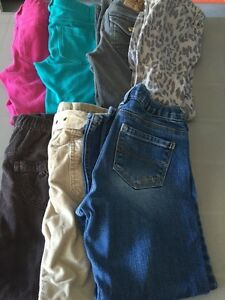 Girls size 6/6x pants (7 pairs)