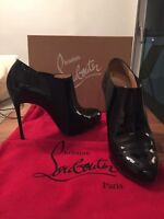 Louboutin booties for sale!