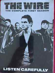 The Wire. Complete first season DVD new unopened
