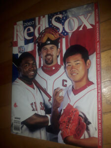 AD 3 of 3 - Red Sox Yearbooks/Scorebooks/Media Guides/Magazines