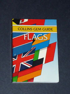 book on Flags : Collins Gem Guide :Clean,SmokeFree,ExcCond