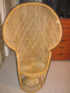 Wicker chair in great condition