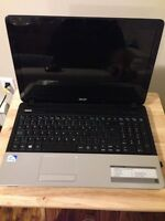 "Acer 15"" black laptop"