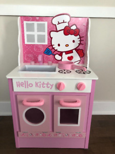 Cuisiniere en bois  HELLO KITTY   - WOW -