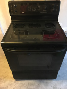 Kenmore Convention and Glass Stove Top - Black