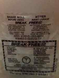 Break Free Cleaner Lubricant and Preservitve CLP
