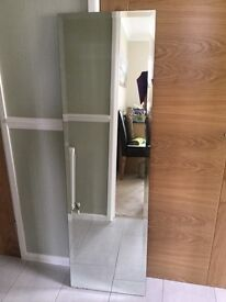 REDUCED: Large bevelled edge mirror