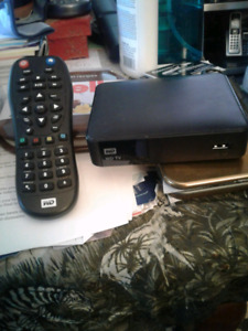 WD TV Media Player with Remote