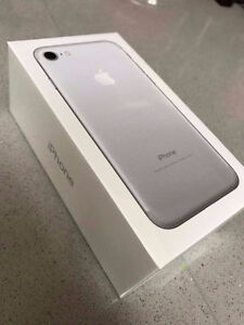iPhone 7 32Gb Silver Brand New Sealed