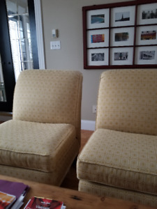 Armless Chairs