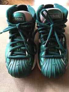 Adidas Pro Model - Size 7 Mens - Celtic Green Patent Leather Prince George British Columbia image 6
