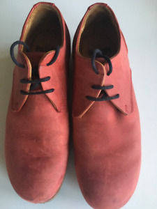 Fluevog CBC Womens in Red, Size 7 - $75
