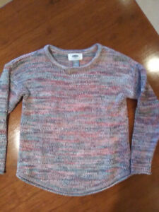Old navy size 5 marled sweater