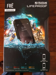 LifeProof Fre iPhone 6/6s Fitted Hard Shell Case - Black NEW