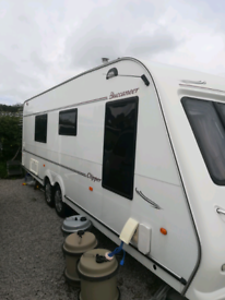 Buccaneer Clipper caravan with air conditioning