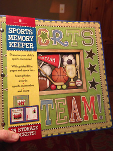 Sports Memory Photo Book