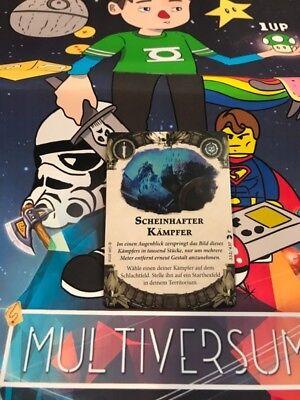 Shadespire Scheinhafter Kämpfer Karte Card Promo Promotion Deutsch / German