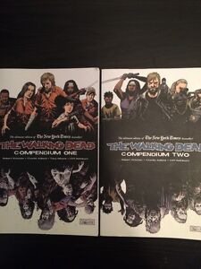 The Walking Dead compendium 1 and 2