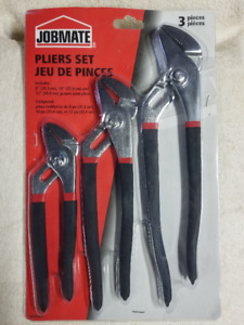 New 3 Pack of Pliers