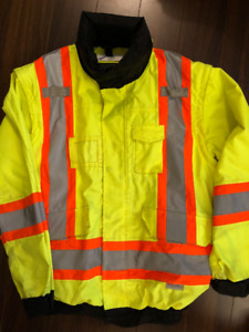 CSA approved safety jacket, visible vest