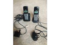GIGASET A220A DIGITAL CORDLESS DUO PHONE