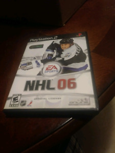 Nhl 06 ps2 game