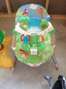 Fisher price bounce chair