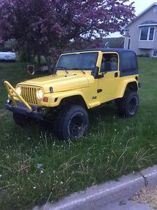 1998 Jeep Wrangler Convertible