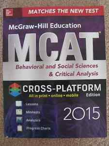 MCAT BOOKS FOR SALE