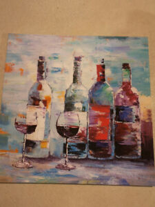 Red Shoes Canvas Print & Wine Bottle Canvas Print $20.00 each