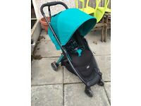 Emerald green armadillo city buggy stroller pushchair