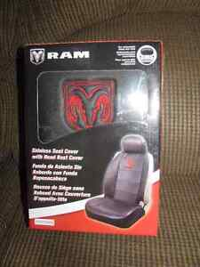 One New Dodge Ram Elite Black Front Sideless Seat Cover London Ontario image 4