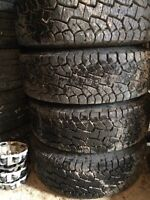 """16"""" Chev/GMC Rims and Tires"""