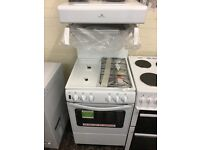 New world gas cooker with eye level grill, new ex-display